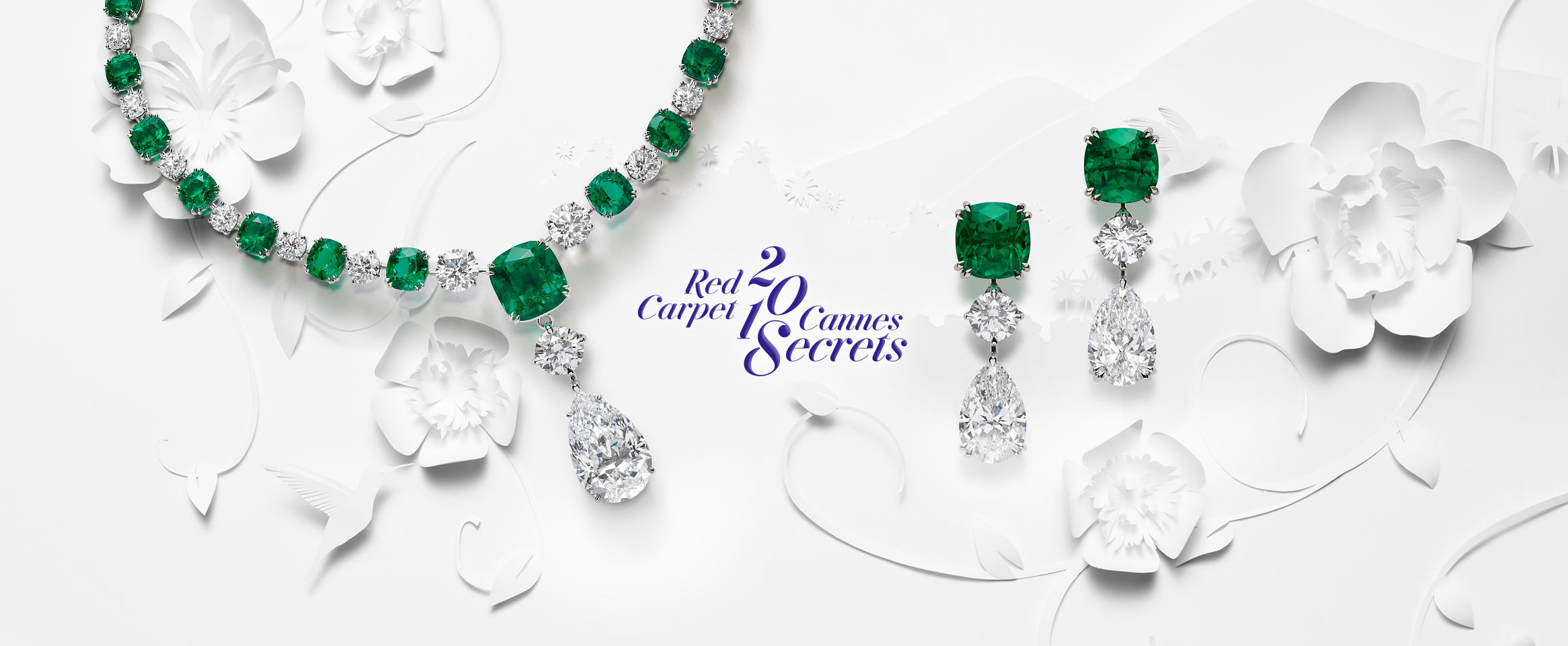 Header for Chopard's Red Carpet Collection 2018